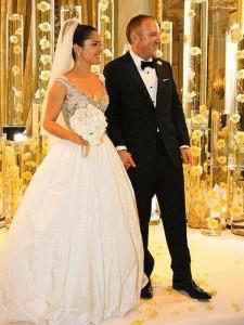 Salma Hayek & Francois-Henri Pinault Wedding in Italy Umbria